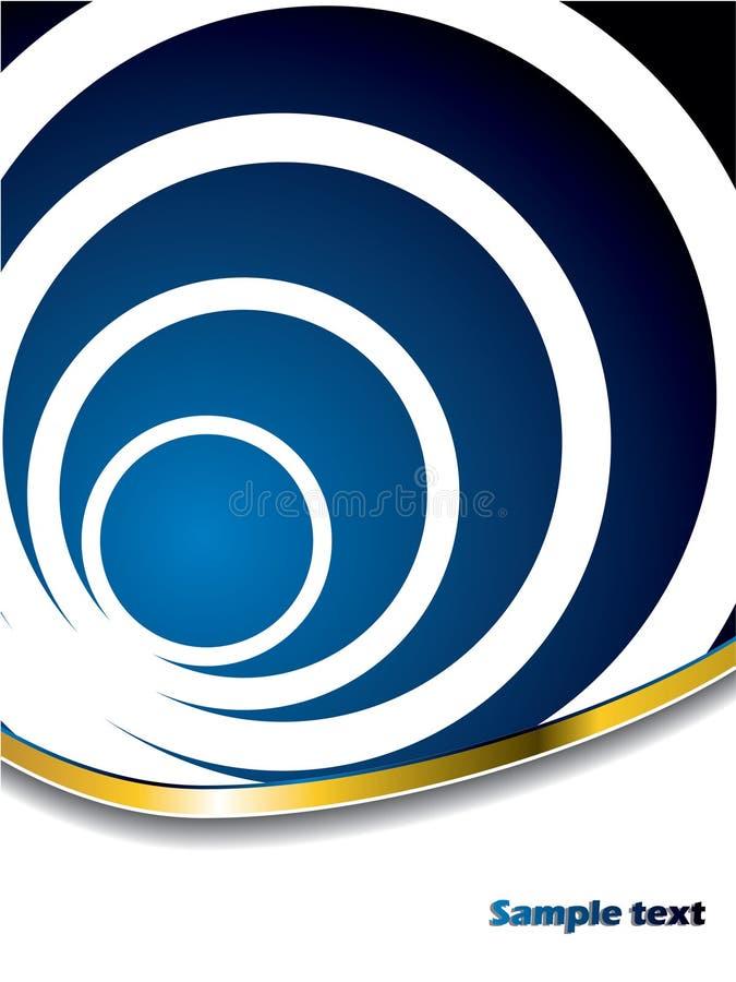 Abstracte cirkels royalty-vrije illustratie