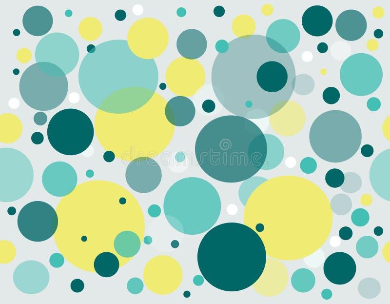 Abstracte cirkelsachtergrond stock foto