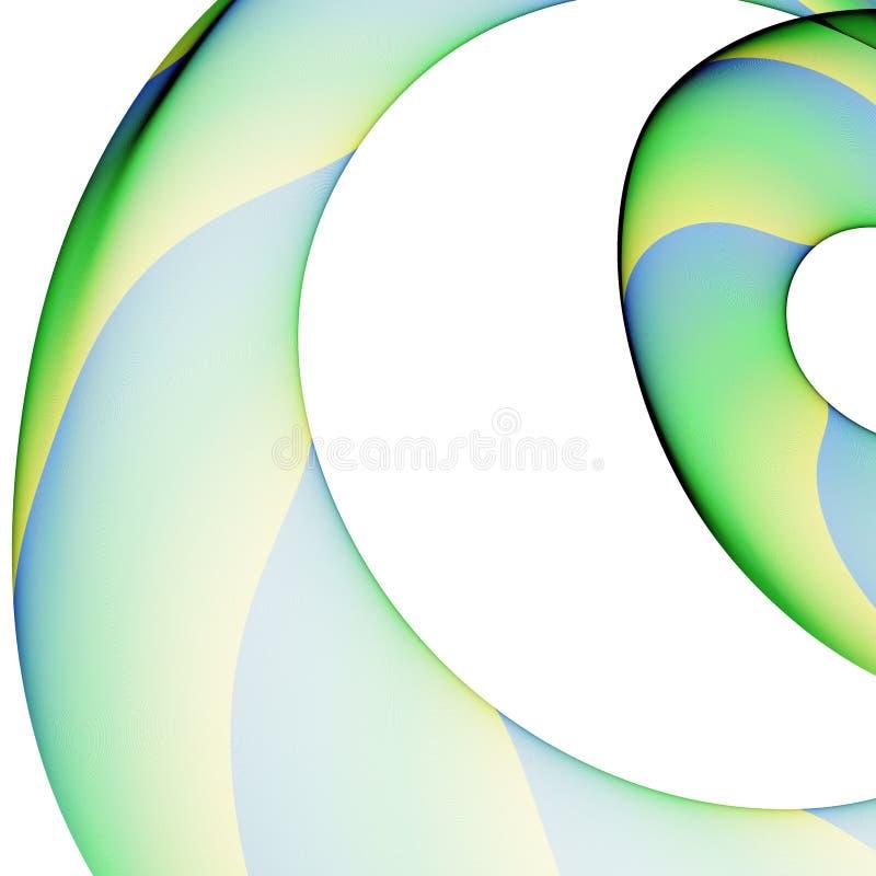 Abstracte cirkelsamenstelling vector illustratie