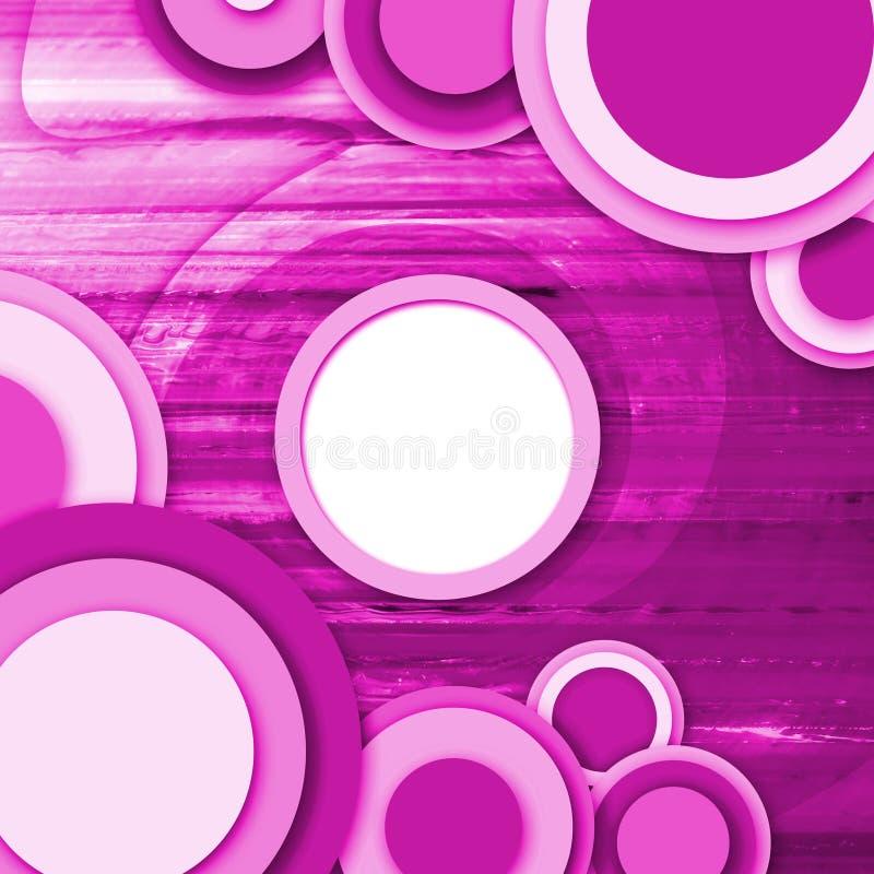 Abstracte cirkelspeld als achtergrond vector illustratie