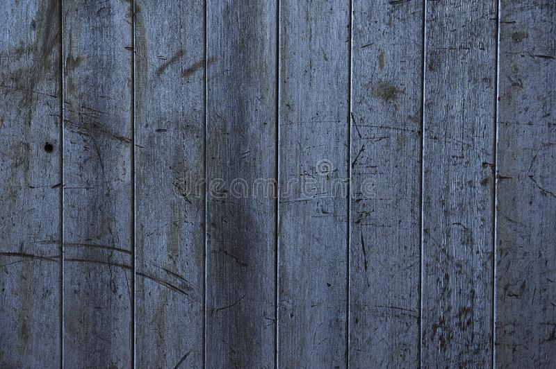 Abstracte Close-up van een Oude Doorstane Hout Commissie Muur stock foto's
