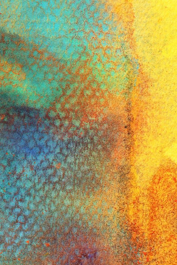 Abstracte Combinatie het Gloeien Kleuren royalty-vrije stock afbeelding