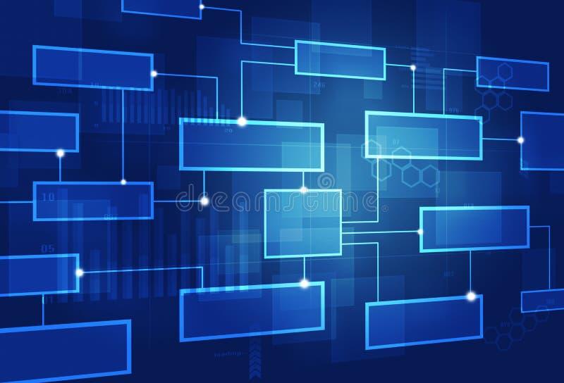 Abstracte Concepten Bedrijfskar stock illustratie