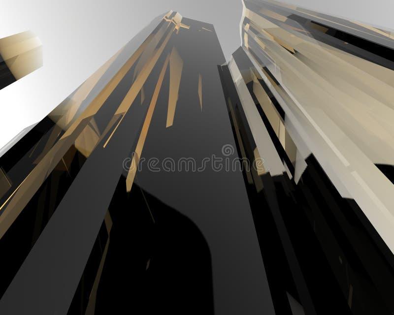Abstracte 3d stock foto