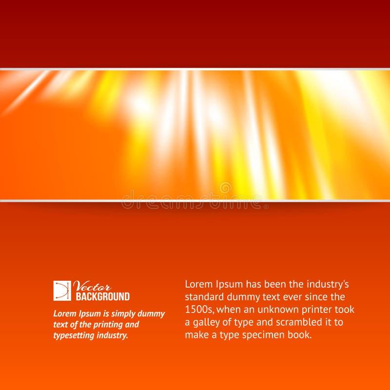 Abstracte dageraadlichten. royalty-vrije illustratie