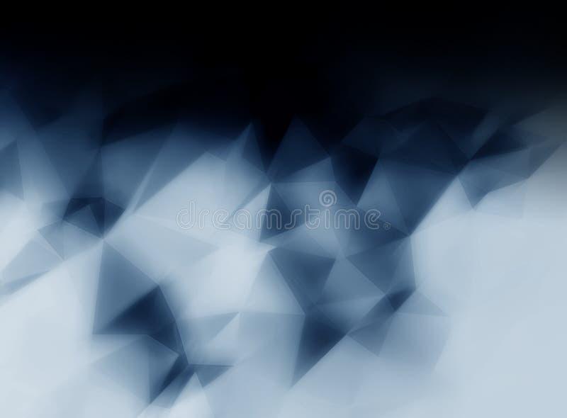 Abstracte dark blured achtergrond vector illustratie