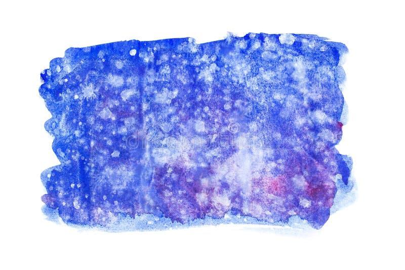Abstracte de handverf van de waterverfkunst op witte achtergrond De achtergrond van de waterverf royalty-vrije stock foto's