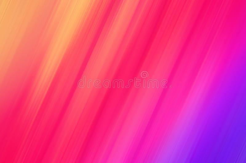 Abstracte de motieachtergrond van de regenboogkleur Gebruik als textuur en achtergrond vector illustratie