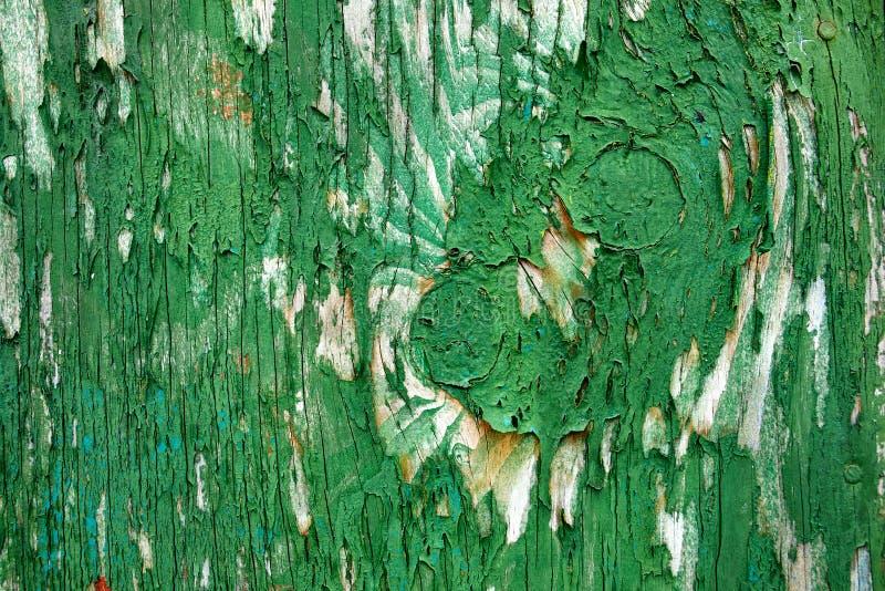 Abstracte de textuurachtergrond van de grunge houten verf stock fotografie