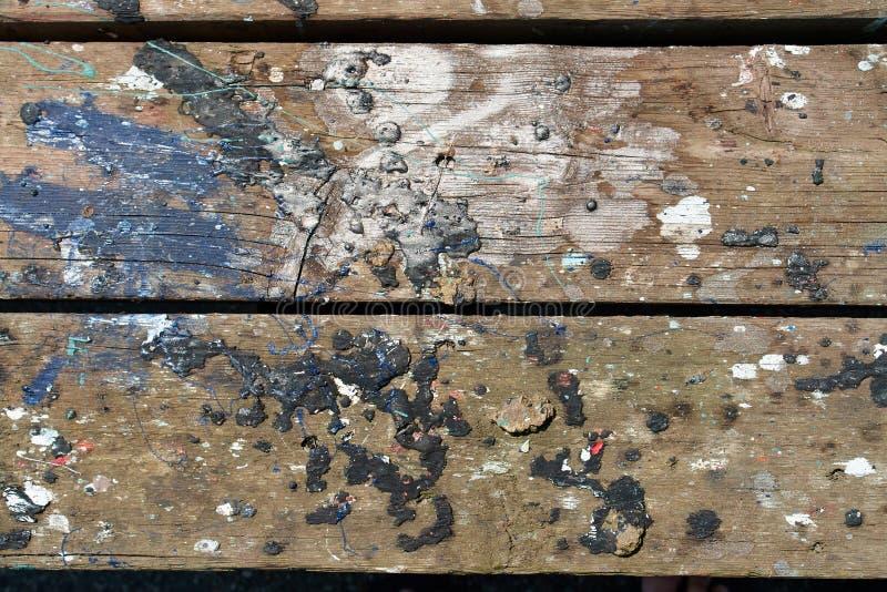 Abstracte de textuurachtergrond van de grunge houten verf royalty-vrije stock afbeelding