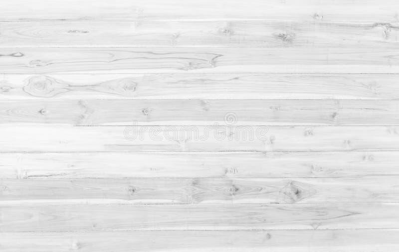 Abstracte de textuurachtergrond van de oppervlakte witte houten lijst Sluit omhoog o stock afbeelding