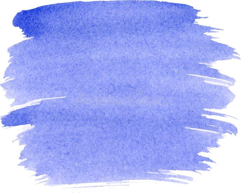 Abstracte de verftextuur van de waterverfhand, stock illustratie