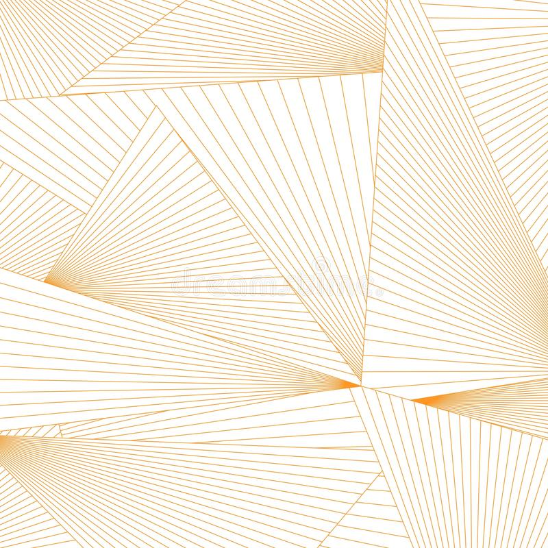 Abstracte de vormachtergrond van de lijnendriehoek royalty-vrije illustratie