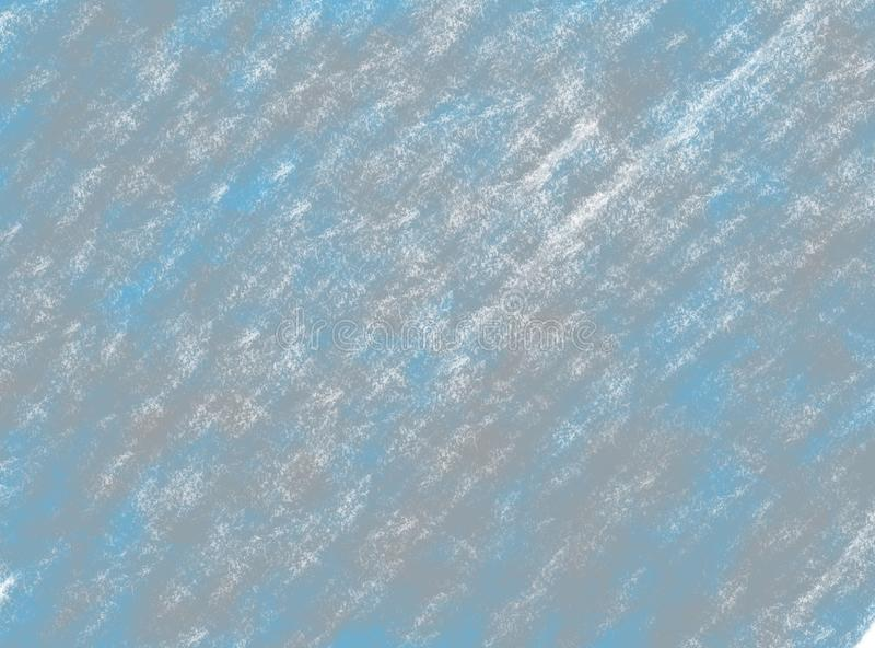 Abstracte de waterverf grunge achtergrond van de zacht-kleuren uitstekende pastelkleur met gekleurde schaduwen van blauwe en grij vector illustratie