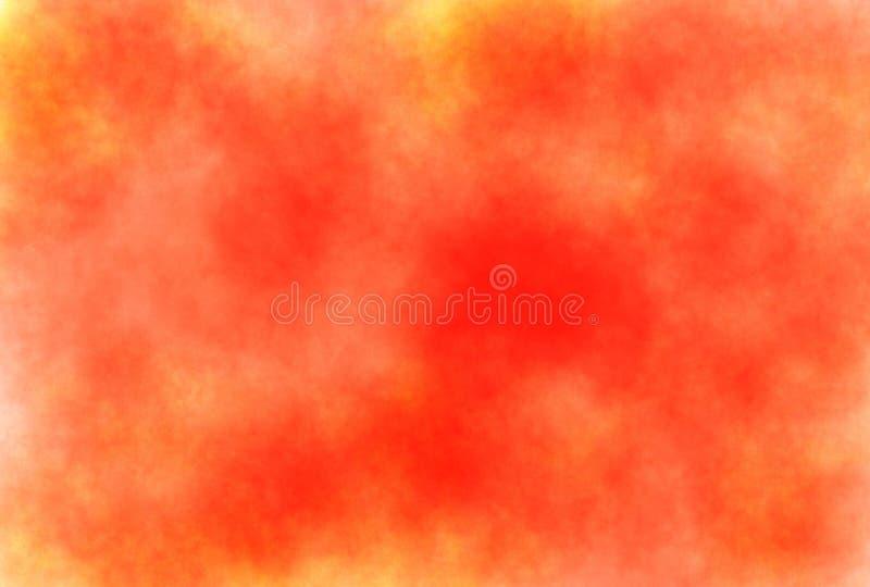 Abstracte de waterverf grunge achtergrond van de zacht-kleuren uitstekende pastelkleur met gekleurde schaduwen van witte, gele, d stock illustratie