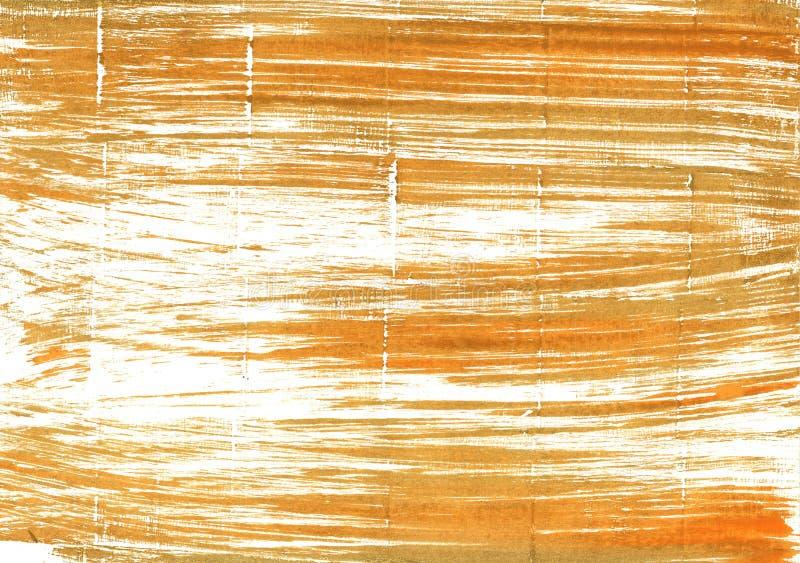 Abstracte de waterverfachtergrond van het tijgersoog stock foto