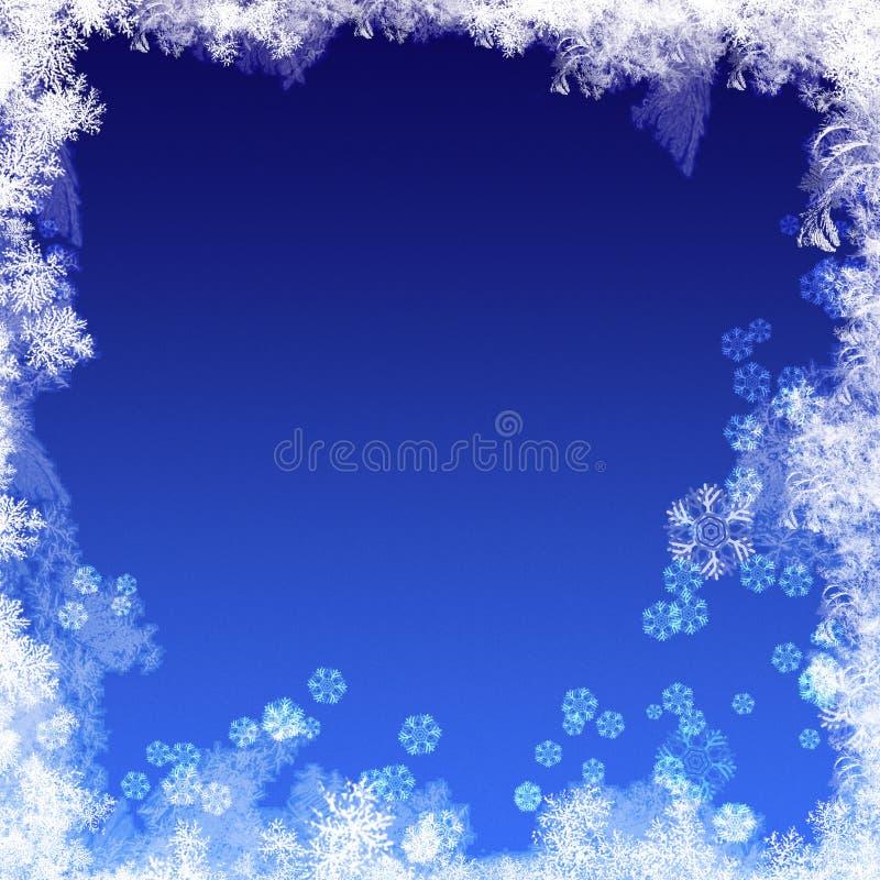 Abstracte de winterachtergronden vector illustratie
