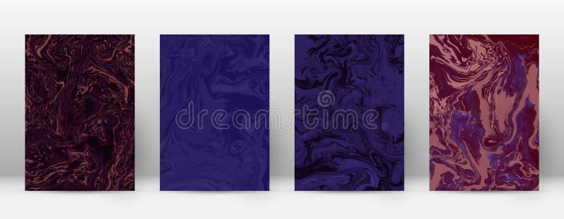 Abstracte dekking vector illustratie