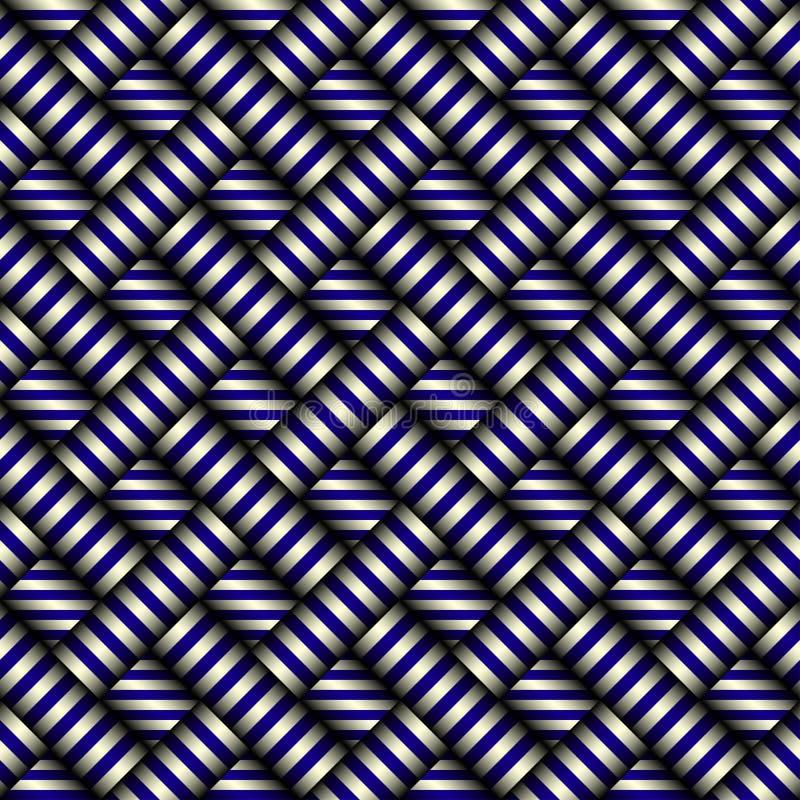 Abstracte diagonale plaidachtergrond stock illustratie