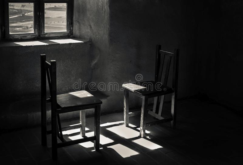 Abstracte dialoog stock foto