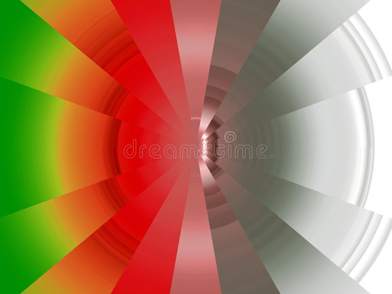 Abstracte diamant cirkel levendige meetkunde, heldere achtergrond, kleurrijke meetkunde stock illustratie