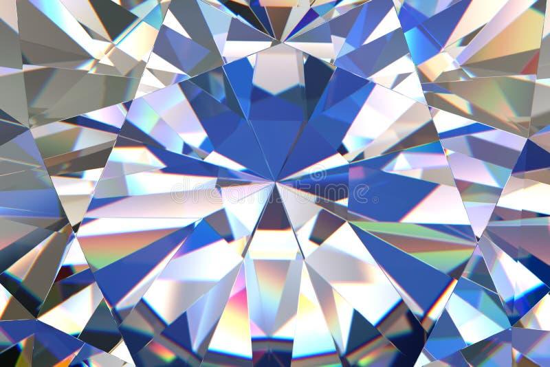 Abstracte diamantachtergrond royalty-vrije illustratie