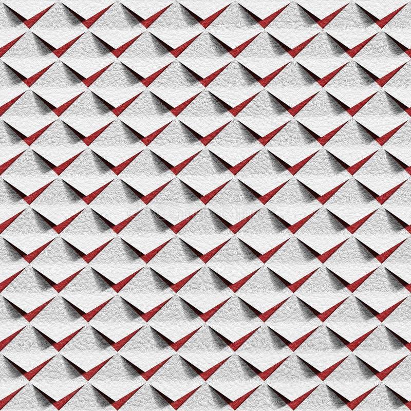 Abstracte die knipsels voor naadloze achtergrond worden gestapeld vector illustratie