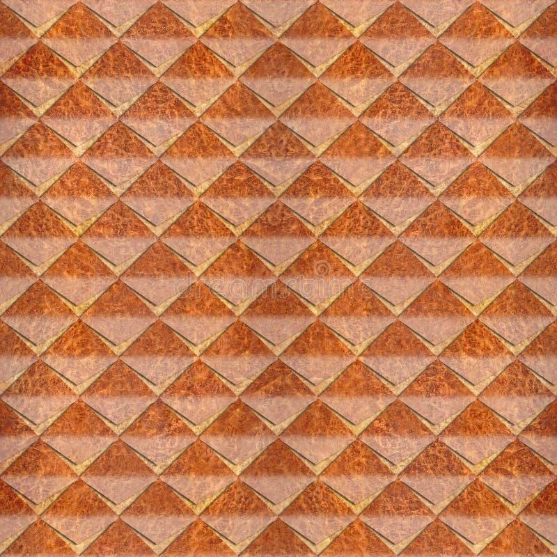 Abstracte die knipsels voor naadloze Karpatische achtergrond worden gestapeld - vector illustratie
