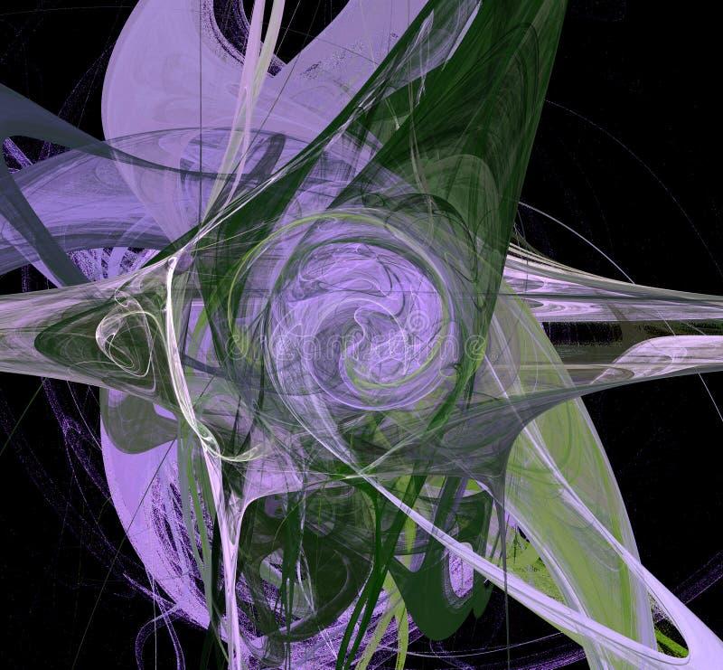 Abstracte digitale creatiopn Saturn stock foto's