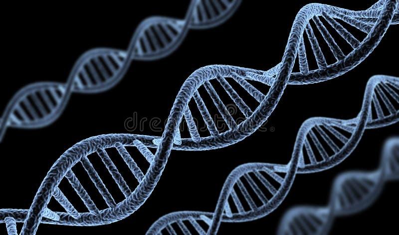 Abstracte DNA royalty-vrije illustratie