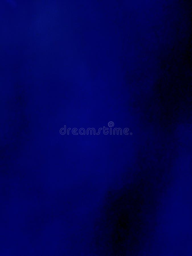 Abstracte donkerblauwe uitstekende grungeachtergrond royalty-vrije illustratie