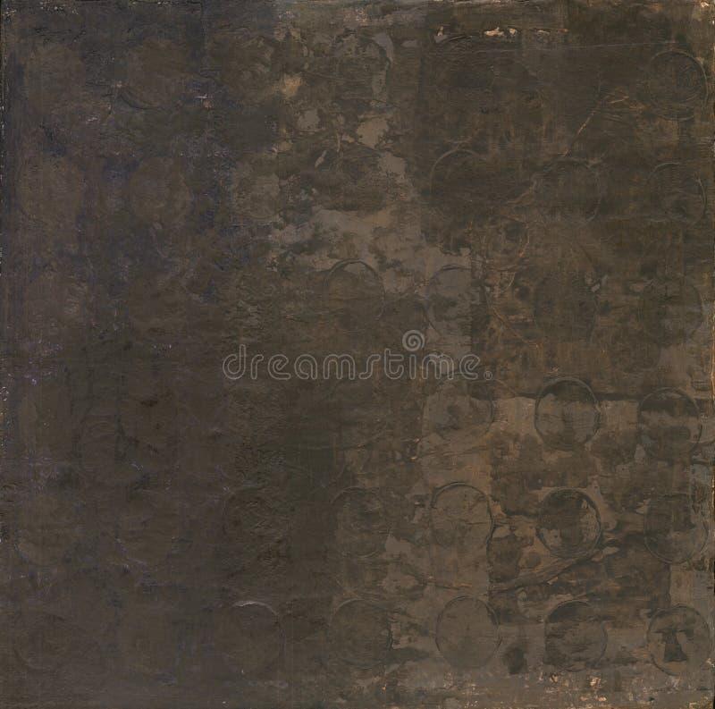 Abstracte Donkere Bruin stock illustratie