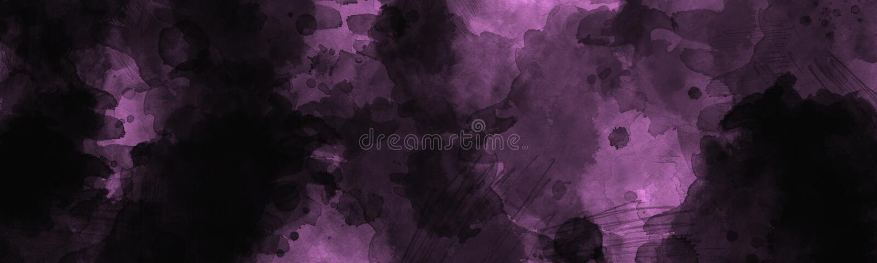 Abstracte donkere geschilderde achtergrond met uitstekend waterverf langzaam verdwenen effect royalty-vrije stock afbeelding