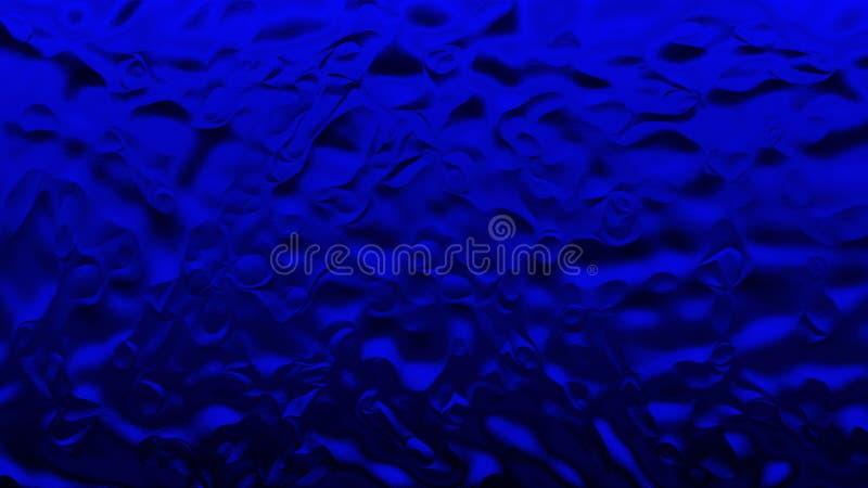 Abstracte donkere illustratie Blauwe document achtergrond uitstekende stijl Blauwe lijnachtergronden royalty-vrije stock afbeeldingen