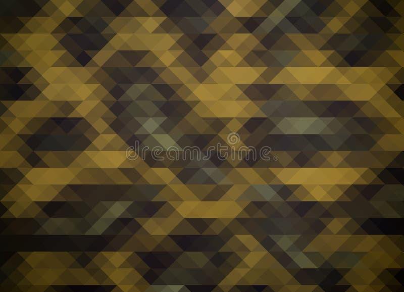 Abstracte driehoekenachtergrond royalty-vrije illustratie
