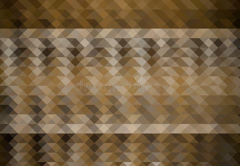 Abstracte driehoekenachtergrond stock illustratie