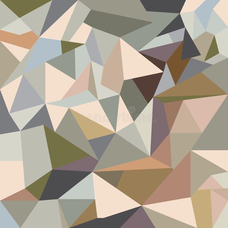 Abstracte driehoekenachtergrond royalty-vrije stock fotografie