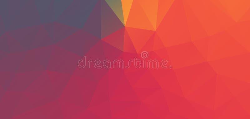 Abstracte driehoeksillustratie vector illustratie