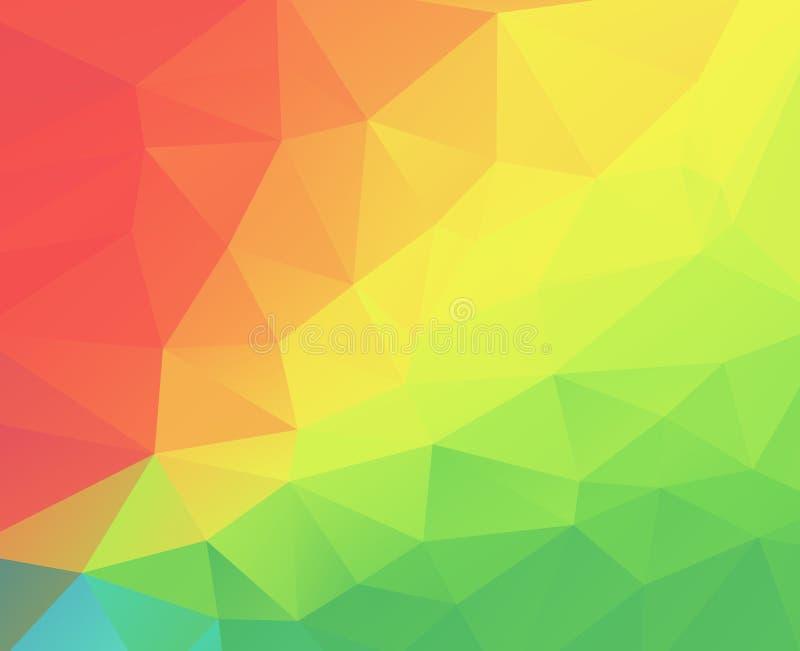 Abstracte driehoeksillustratie stock illustratie