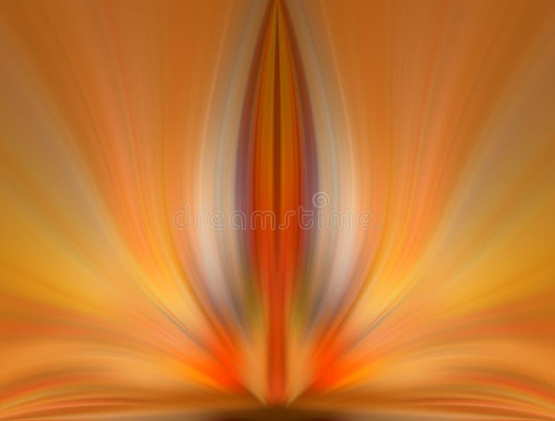 Abstracte energiebloem, creatieve achtergrond royalty-vrije stock fotografie
