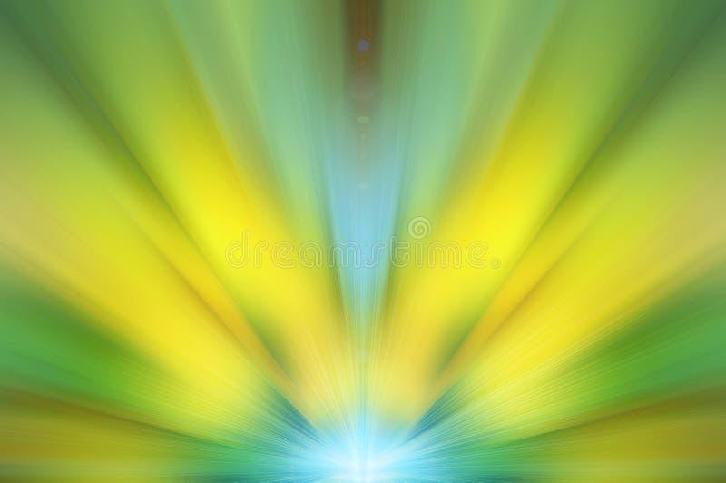 Abstracte energiebloem royalty-vrije stock afbeeldingen