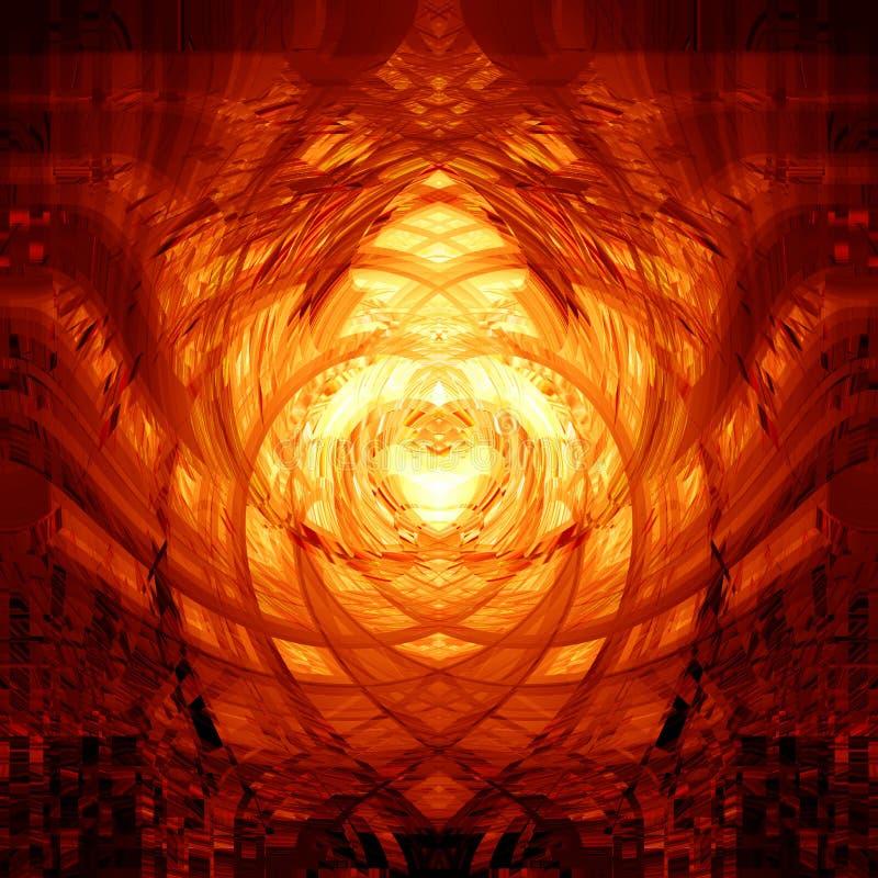 Abstracte explosie royalty-vrije illustratie