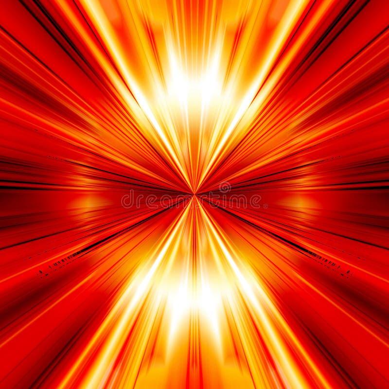 Abstracte explosie vector illustratie