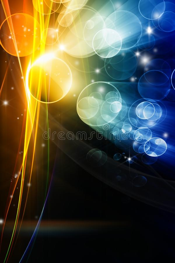 Abstracte feestelijke achtergrond stock illustratie