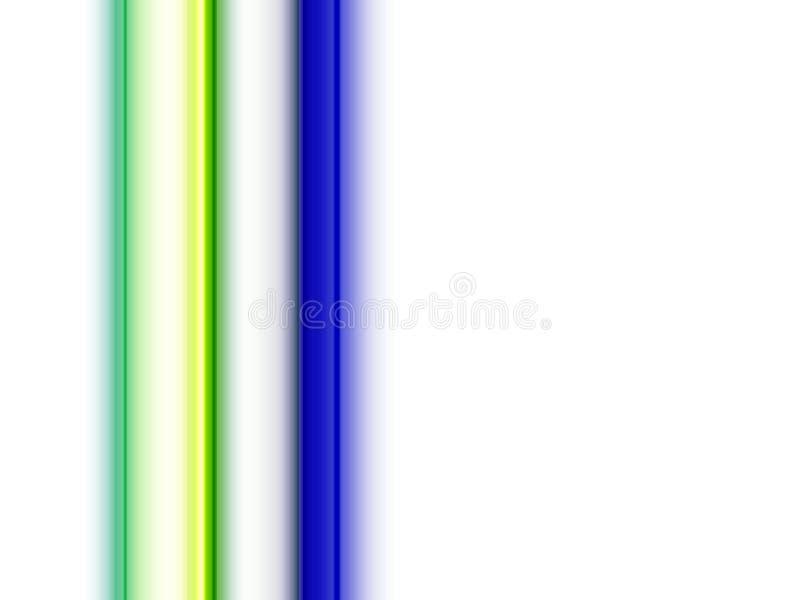 Abstracte fosforescerende blauwe gouden lijnen fonkelende vormen, lijnen, fonkelende achtergrond, grafiek, abstracte achtergrond  royalty-vrije illustratie