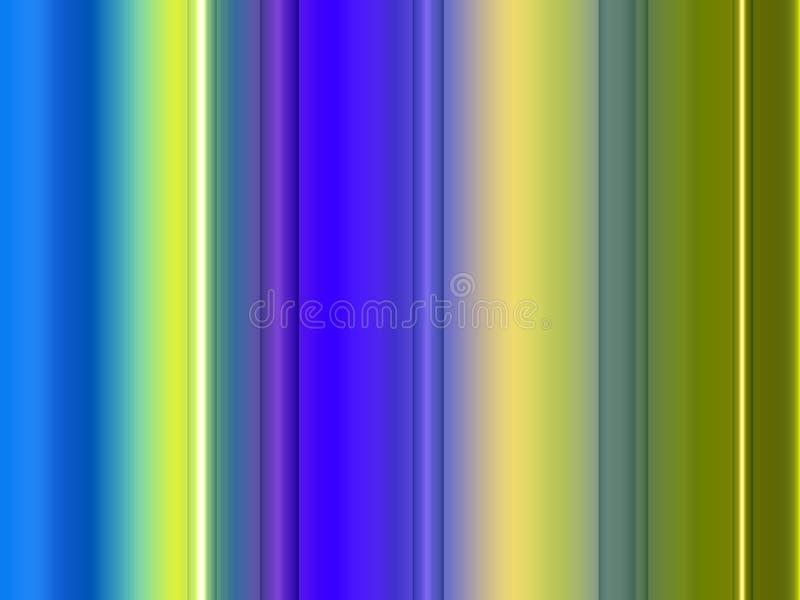 Abstracte fosforescerende geelgroene lijnen fonkelende vormen, lijnen, fonkelende achtergrond, grafiek, abstracte achtergrond en  royalty-vrije illustratie