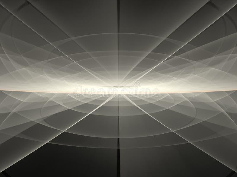 Abstracte Fractal royalty-vrije illustratie