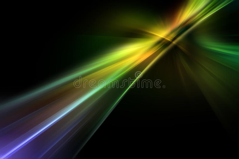 Abstracte fractal achtergrond stock illustratie