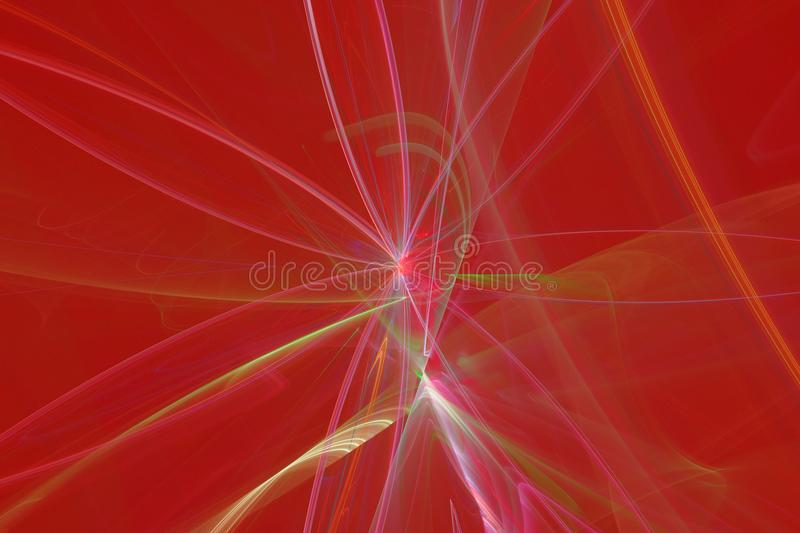 Abstracte fractal vlamfractal backgroundr vector illustratie
