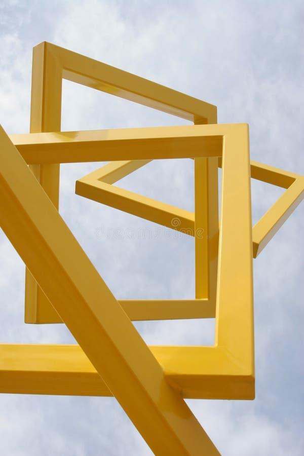 Abstracte frames royalty-vrije stock foto's